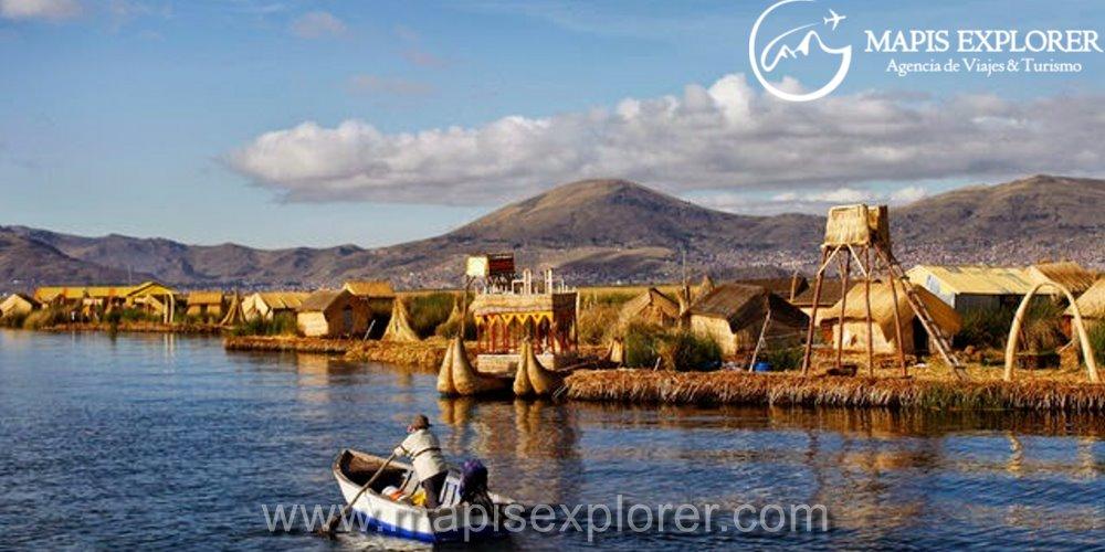 Islas Flotantes de Uros 1/2 dia / Lago Titicaca Puno / Ilhas dos Uros Puno