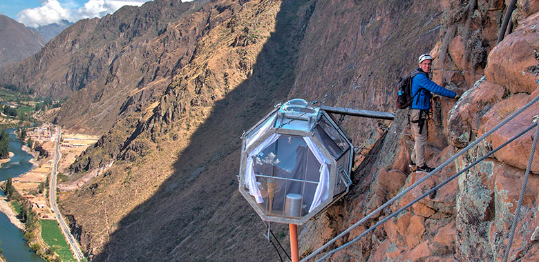 Vía Ferrata y descenso libre en el Valle Sagrado | Escalada valle Sagrado
