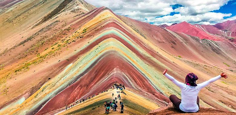 Montaña de 7 Colores - Caminata a Vinicunca 1 Dia - Via Cusipata - Cusco